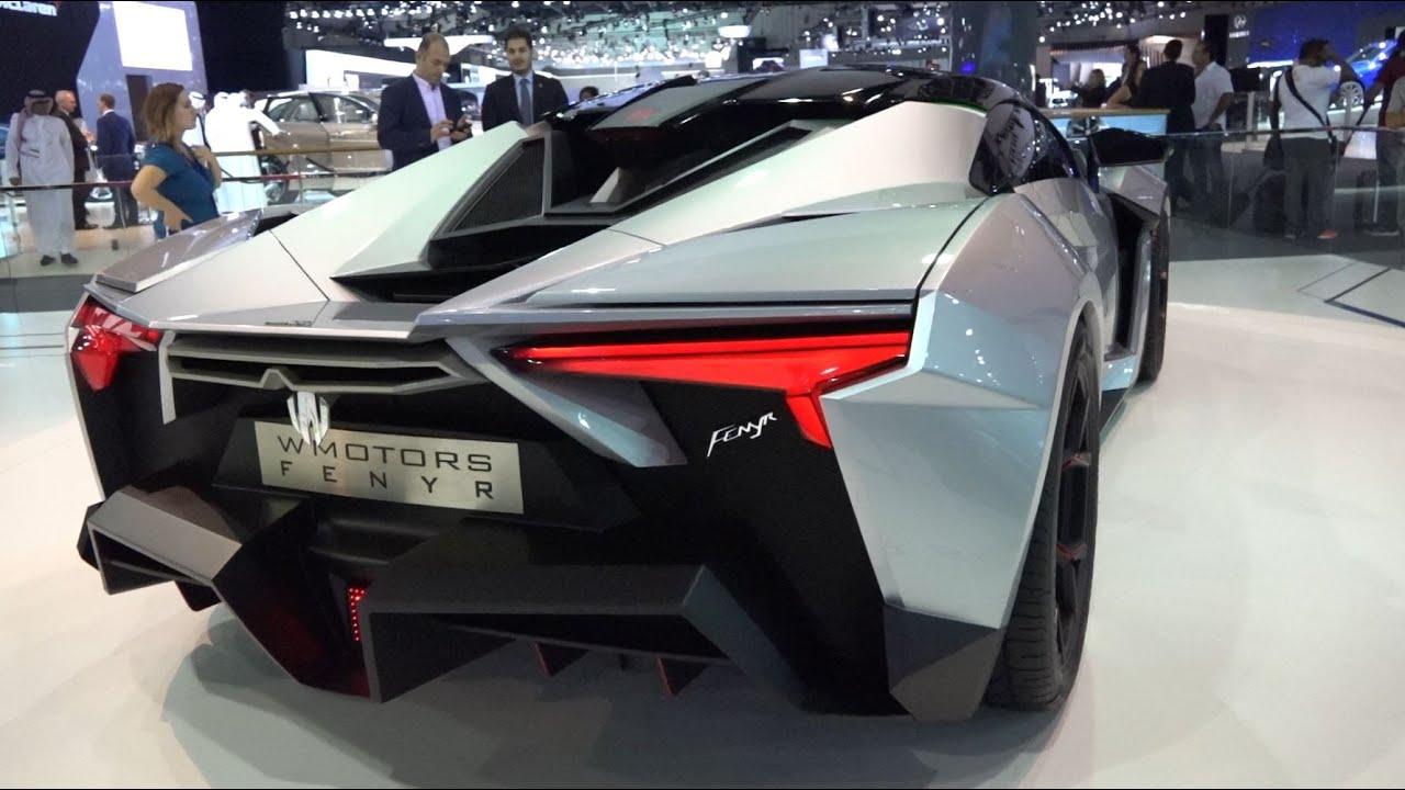 Lykan Car Hd Wallpaper Lykan Fenyr Supersport Dubai Motor Show 2015 Youtube