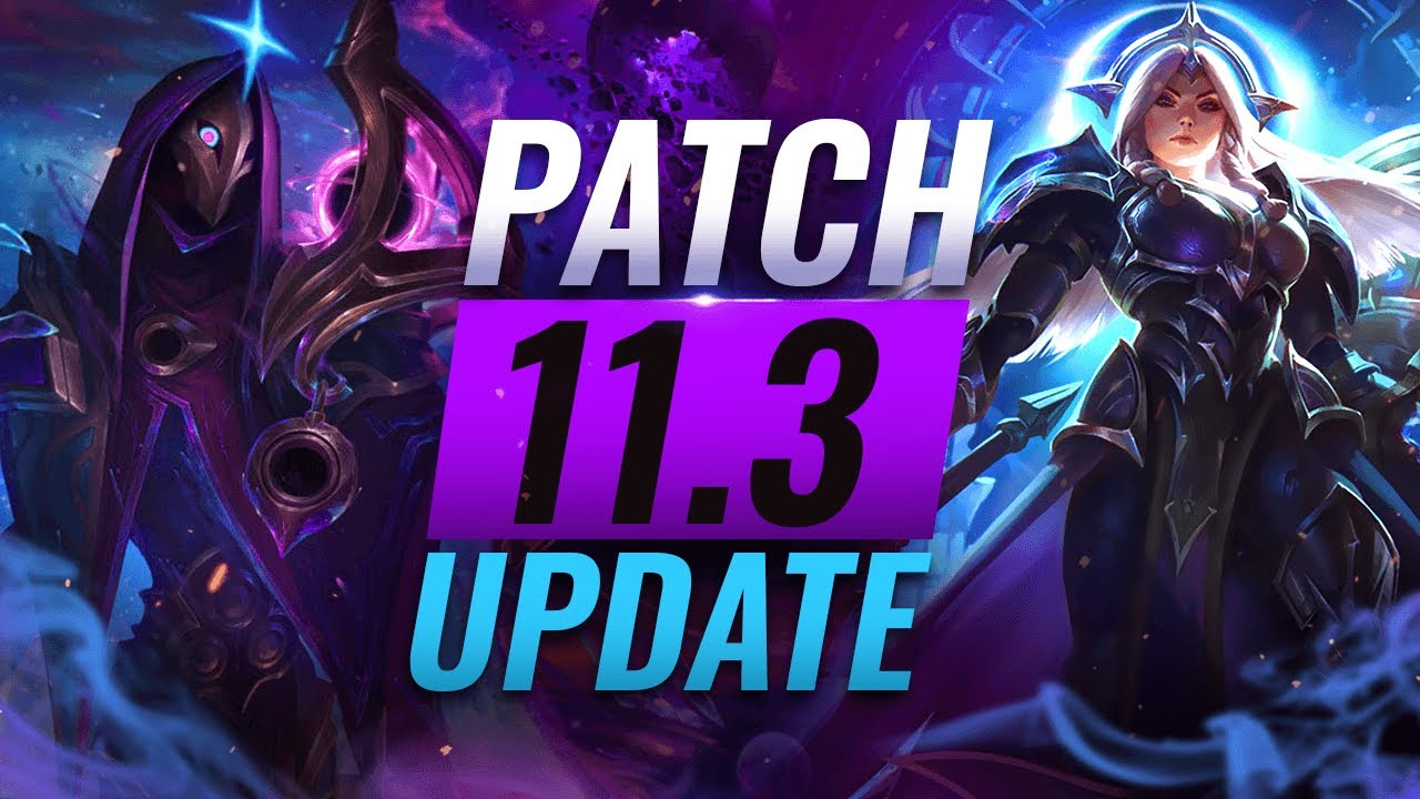 New Update Best Champions Tier List League Of Legends Patch 11 3 Youtube