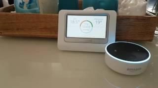 Echo Dot & Honeywell Evohome Heizungssteuerung via Sprache