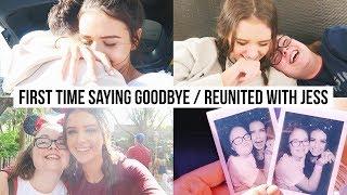 LEAVING GABE + REUNITED WITH MY BESTIE! Vlog