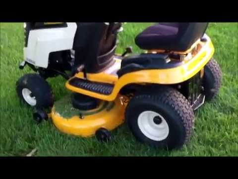 2017 Cub Cadet Ltx 1046 Kw Lawn Tractor Review
