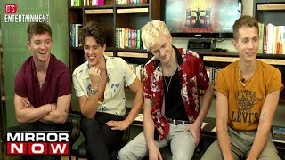 THE VAMPS try Famous BOLLYWOOD DIALOGUES! | It's Entertainment
