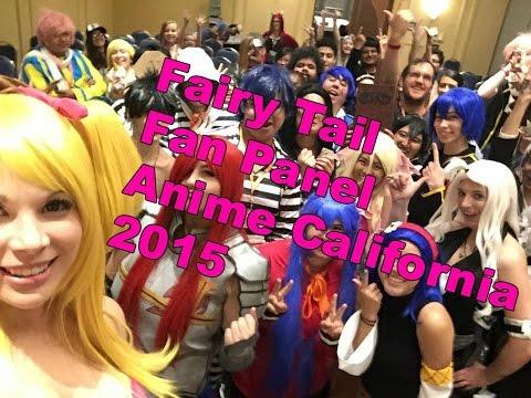 Fairy Tail Fan Panel - Anime California 2015
