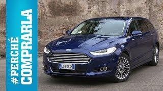 Ford Mondeo Wagon (2015) | Perché comprarla... e perché no(Le grandi Station Wagon non vanno più di moda, è vero, ma quando ci si mette al volante di un'auto come la Mondeo viene davvero voglia di riconsiderare il ..., 2015-02-28T09:20:00.000Z)
