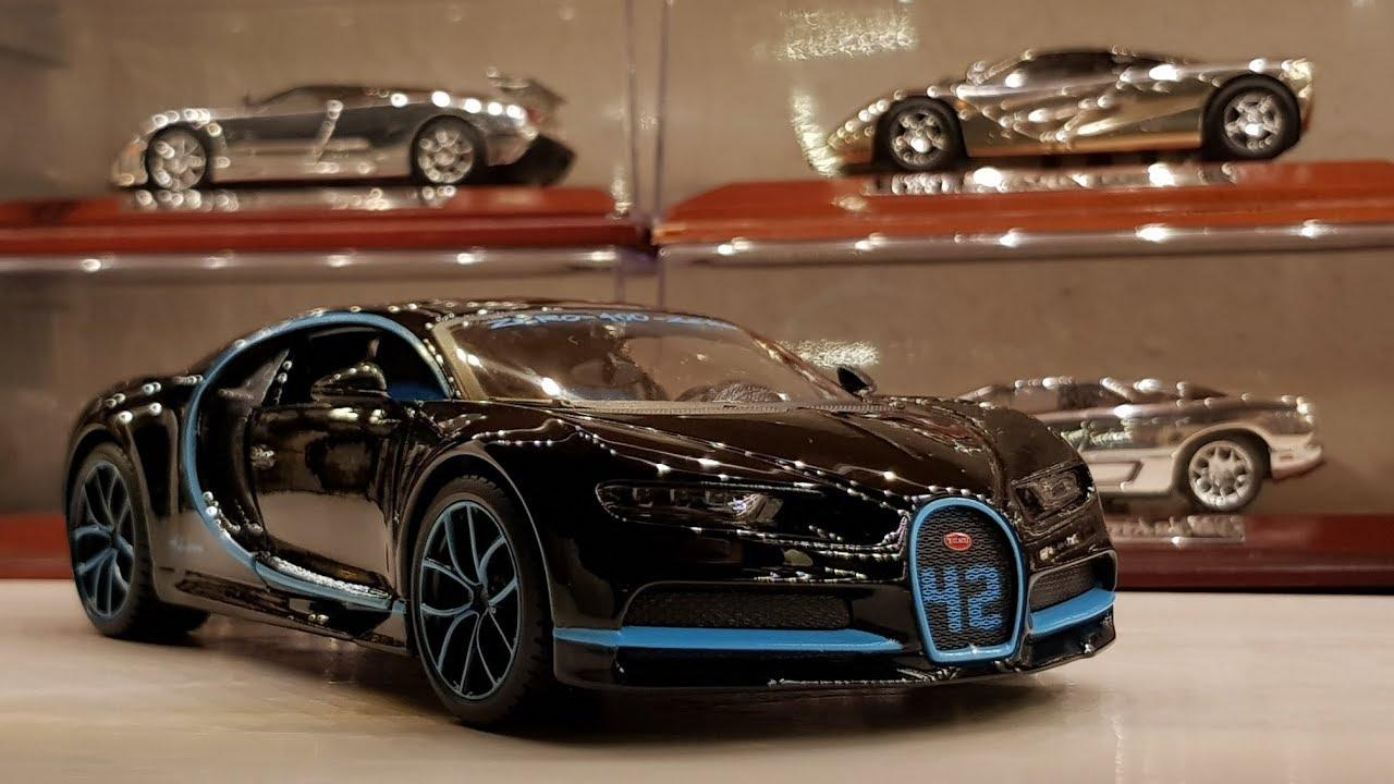 Burago Bugatti Chiron  Zero-400-Zero black 1:18 Bburago />/>NEW/</<