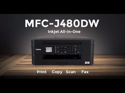 Brother Inkjet Printer Mfc J480dw Youtube
