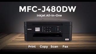Brother inkjet printer - MFC-J480DW