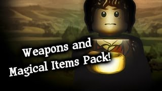 LEGO: The Lord of the Rings: Weapons and Magical Items DLC Pack! - Xbox 360!