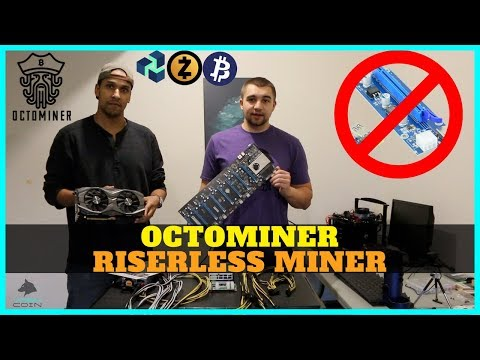 Octominer Review - 8x Riserless GPU Mining Rig Build - Build Crypto Miner In ~5 Minutes