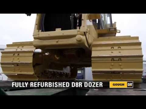 CAT D8R DOZER: FULL MACHINE REBUILD - 90sec version