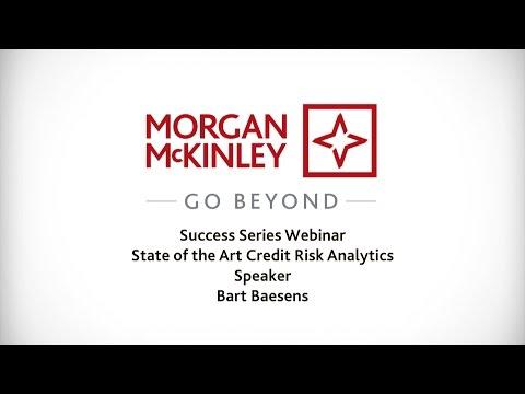 [Webinar] State of the Art Credit Risk Analytics | with Bart Baesens | #SuccessSeries