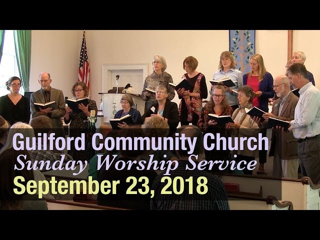 Guilford Church Service - 9/23/18