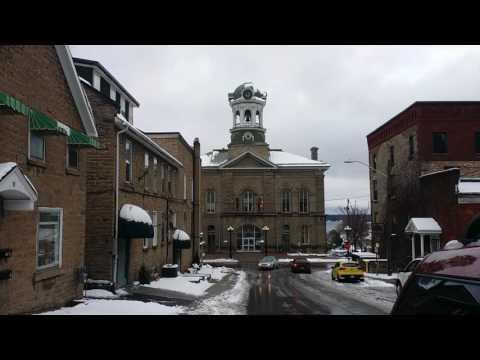 Toronto To Montreal PTSD Walk - In Brockville With Chris