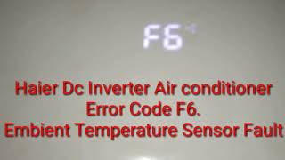 Download Dc Inverter Ac Outdoor Error Codes F6 F7 F1 F3 Etc