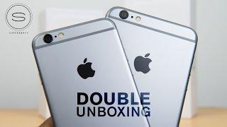 iPhone 6 vs 6 Plus - Unboxing (DOUBLE)