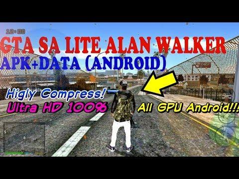 GTA SA LITE ALAN WALKER+Cleo No Root+Audio (All GPU Android)