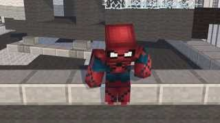 The Amazing Spider-Man 2 - Spider-man vs. Electro - A Minecraft Animation