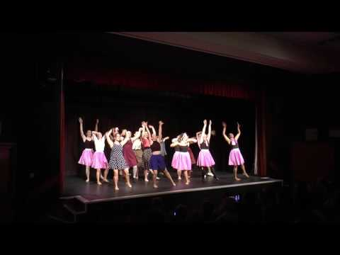 Musical Theatre Hairspray Sheffield Dance Society End of Year Show 2016