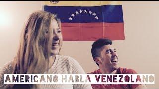 Estadounidense hablando venezolano || Andreeavrd