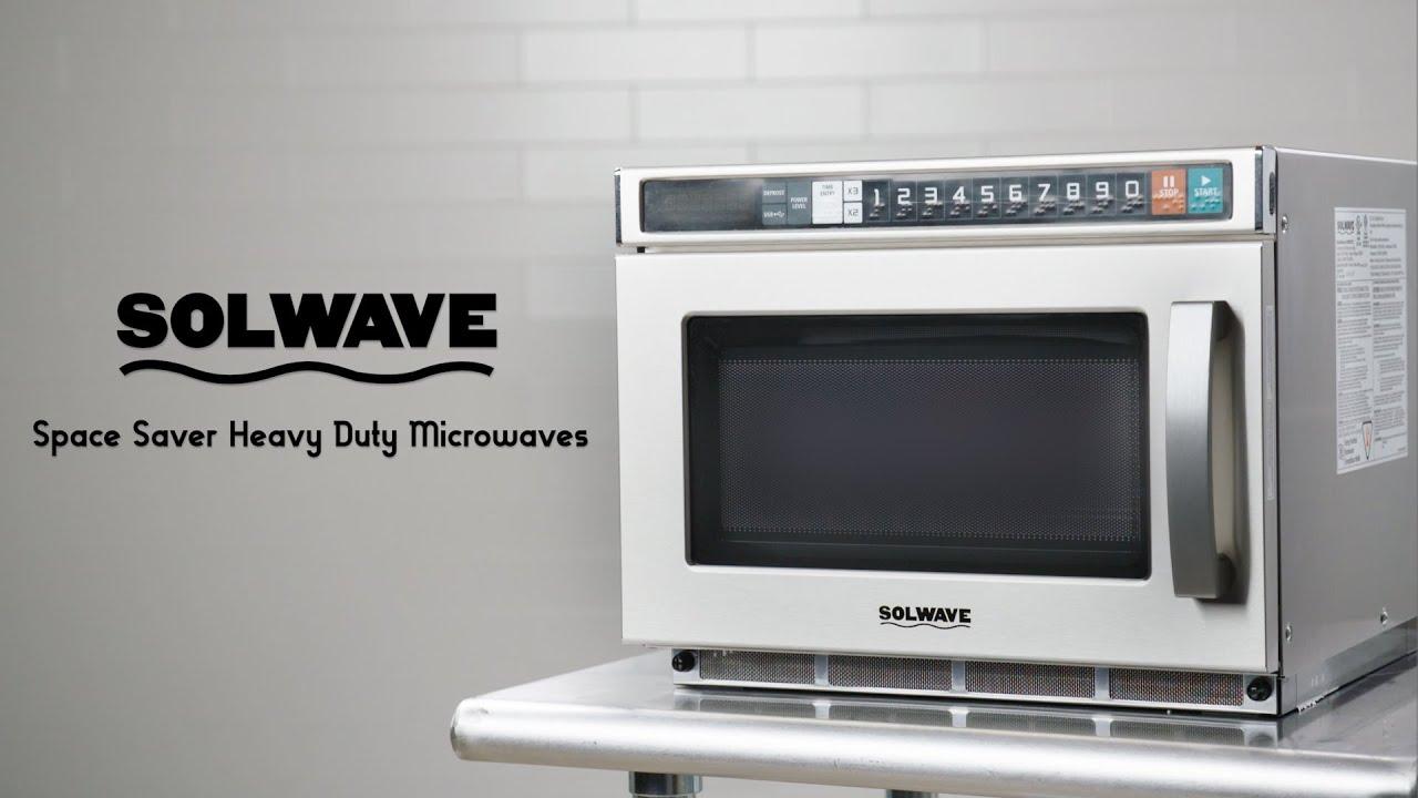 Solwave Space Saver Heavy Duty Microwaves Youtube