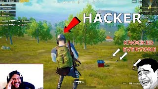 FUNNIEST PUBG MOBILE HACKER ALIVE🤣
