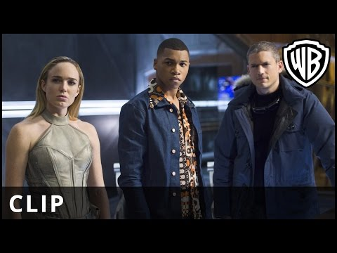 Legends of Tomorrow -  Crash Landing clip - Warner Bros. UK