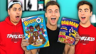 Trying WEIRD Cereals You Never Knew About..