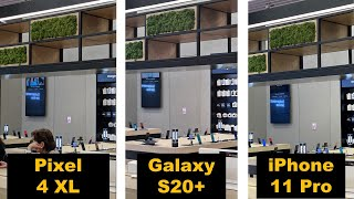 Samsung Galaxy S20+ vs Pixel 4 vs iPhone 11 Pro – Camera Comparison, 8K Video Sample & 30X Zoom.