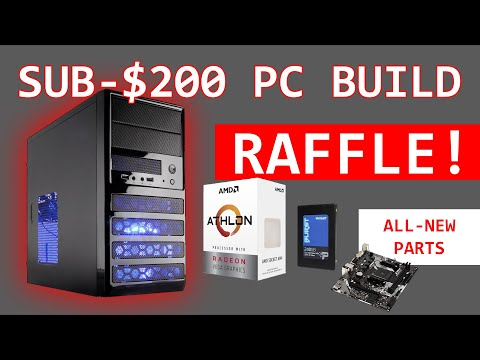 Cheapest AMD PC Build On PCPartPicker (build Log And Testing)