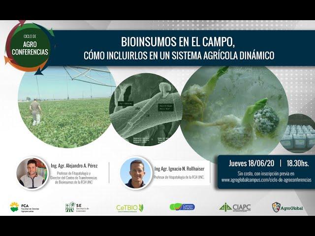 7° Agroconferencia sobre Bioinsumos - AgroGlobal