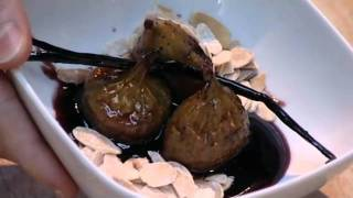 Baked Figs With Port And Creme Fraiche | Kitchen Criminals
