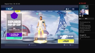 Fortnite | pop-up cup