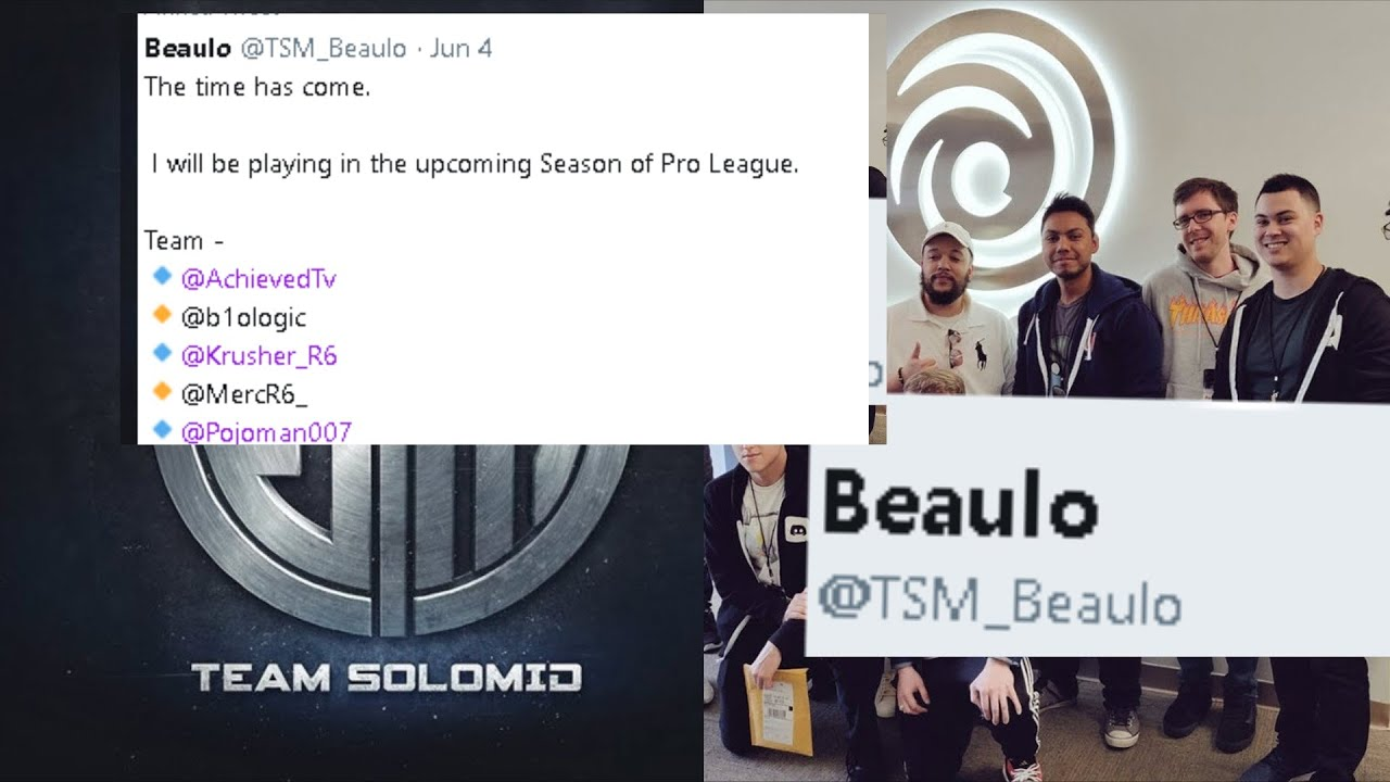 Beaulo Joining TSM For PRO LEAGUES?! - R6 Highlgihts