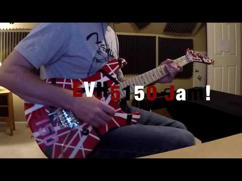 EVH 5150 Striped Series Guitar - Jam | By Tony Larremore