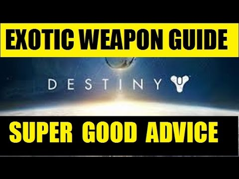 Super Good Advice Exotic Destiny Weapon Guide