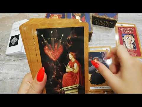 Видео-обзор Золотое таро (Golden Tarot)