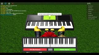 How to play demons (Still 0 subs) Roblox Piano Keyboard v1.1