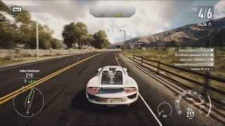 Need for Speed Rivals (PC) - Porsche 918 Spyder - Race Gameplay