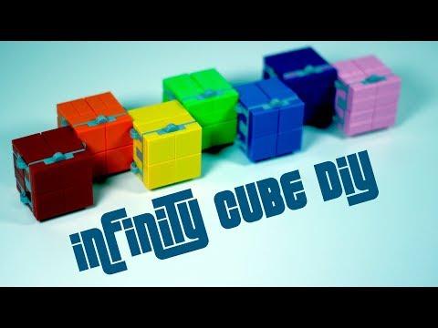Infinity Cube DIY - LEGO Infinity Cube Tutorial