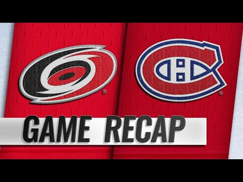 Petry, big 3rd help Canadiens topple Hurricanes, 6-4