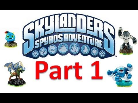 Skylanders Spyros Adventure Nintendo 3DS  Interactive Walkthrough Part 1 Proving Grounds