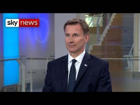 Jeremy Hunt - I will not prorogue Parliament