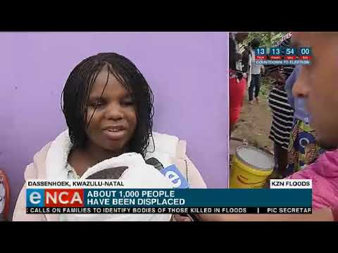 Update on floods in KZN and EC