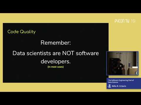 Image from The Software Engineering Part of Data Science