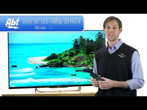Sony 50 Inch LED 1080P 3D HDTV - KDL50W800B Overview