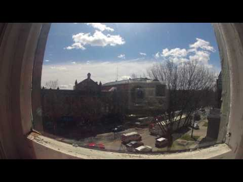 Saratoga Springs, NY Downtown Timelapse (Monday May 15, 2017)