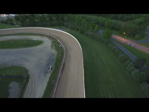Drone Flying At Selinsgrove Speedway