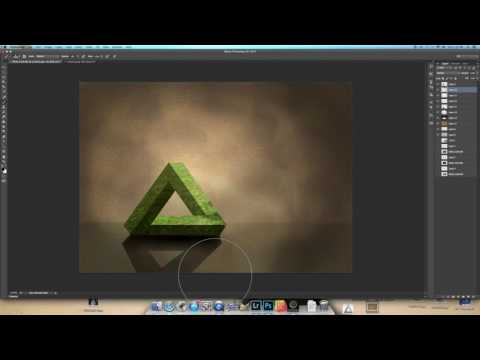 Creating a Penrose Triangle in Photoshop