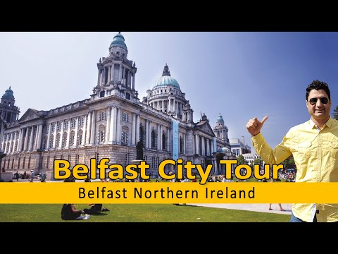 Belfast Northern Ireland | Belfast City Tour Travel Vlog