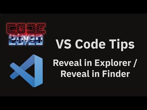 Reveal in Explorer / Reveal in Finder